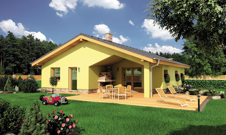 projekt domu BUNGALOW 113