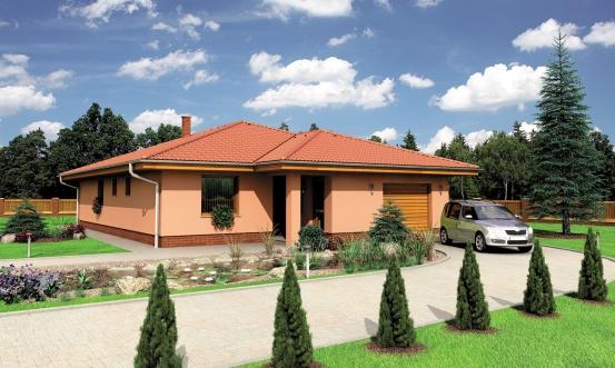 projekt domu BUNGALOW 114