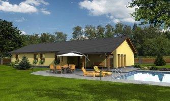 projekt domu BUNGALOW 115