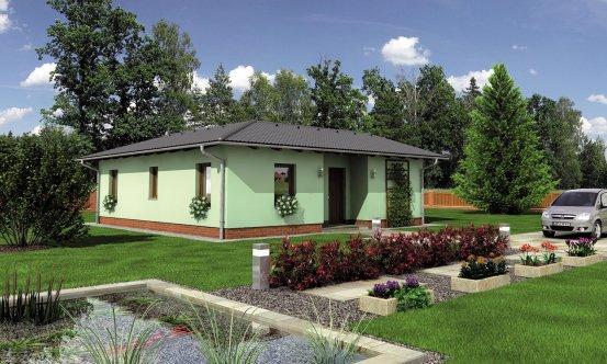 projekt domu BUNGALOW 116
