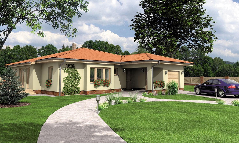 projekt domu BUNGALOW 117