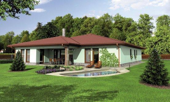 projekt domu BUNGALOW 118