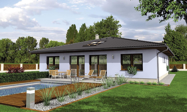 projekt domu BUNGALOW 120