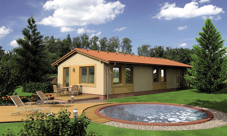 projekt domu BUNGALOW 122