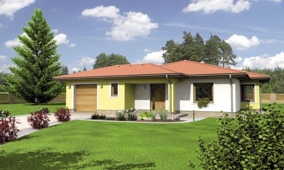 projekt domu BUNGALOW 125