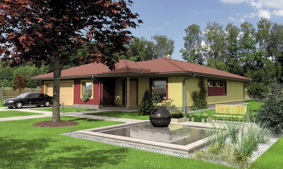 projekt domu BUNGALOW 126
