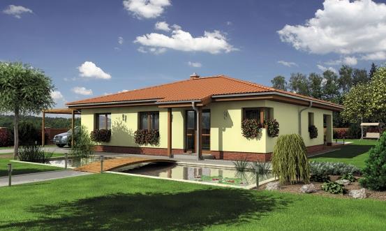 projekt domu BUNGALOW 127