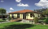 Dom s terasou do záhrady