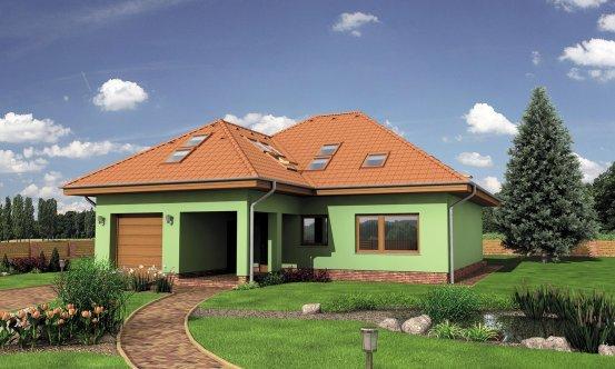 projekt domu BUNGALOW 128
