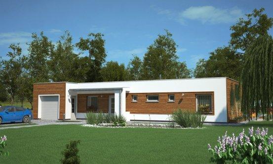 projekt domu BUNGALOW 129