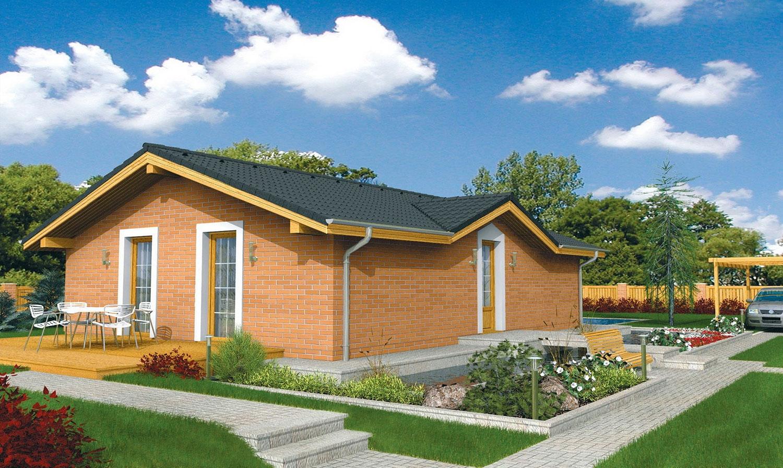 projekt domu BUNGALOW 13