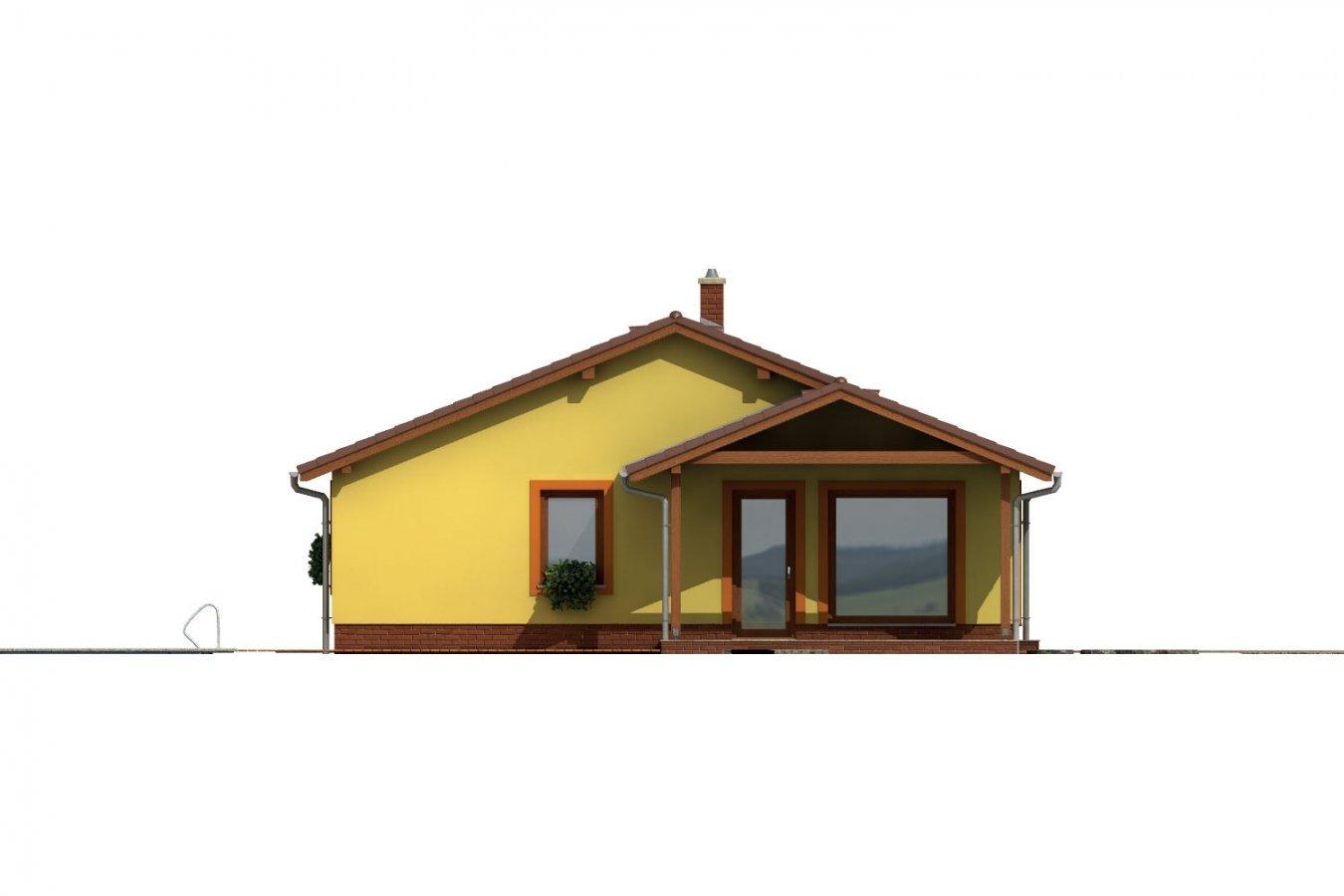 Pohľad 2. - Bezbariérový rodinný dom