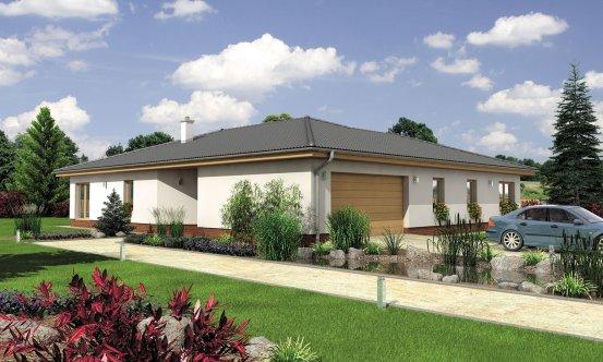 projekt domu BUNGALOW 131