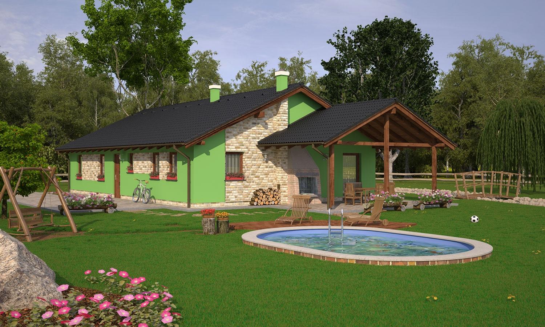projekt domu BUNGALOW 133