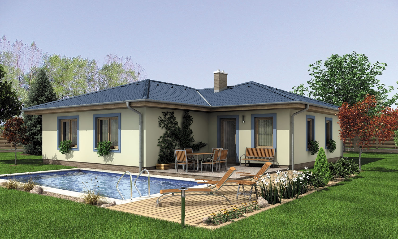 projekt domu BUNGALOW 134
