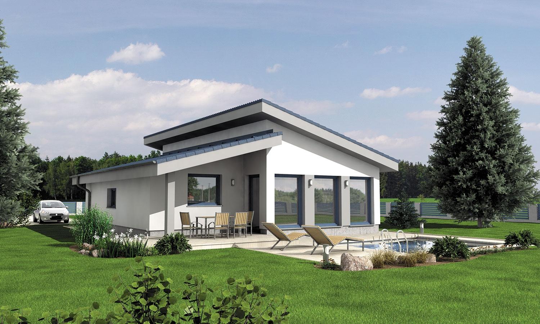 projekt domu BUNGALOW 135