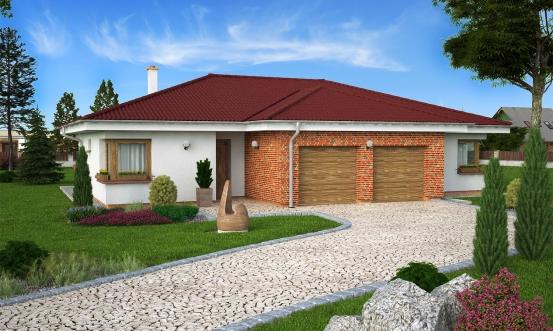 projekt domu BUNGALOW 137
