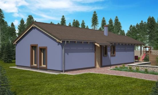 projekt domu BUNGALOW 139