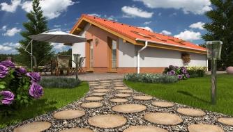 projekt domu BUNGALOW 14