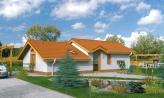 Lacný dom na úzky pozemok