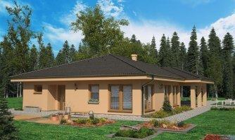 projekt domu BUNGALOW 140