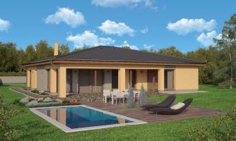 Krásny dom s veľkou terasou