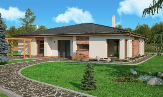 projekt domu BUNGALOW 141
