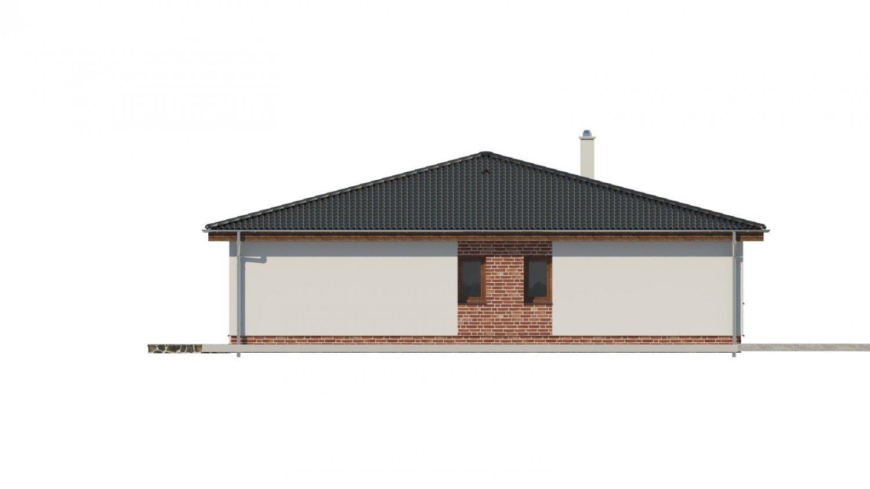 Pohľad 4. - Krásny dom s veľkou terasou.