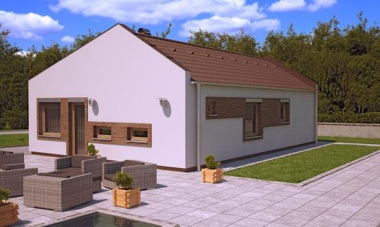 projekt domu BUNGALOW 142