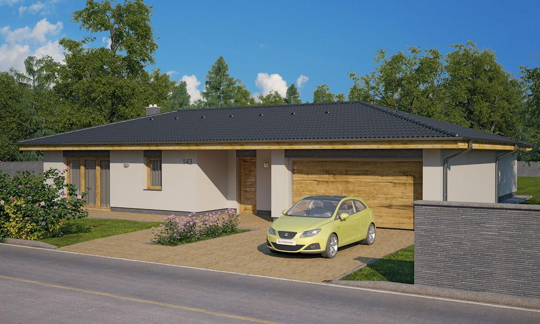 projekt domu BUNGALOW 143