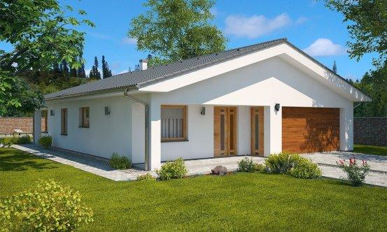 projekt domu BUNGALOW 144