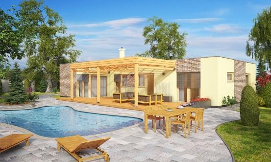 projekt domu BUNGALOW 145