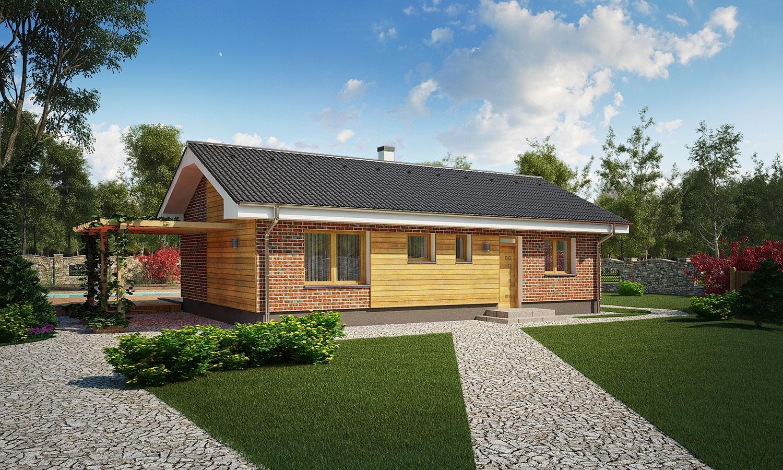 projekt domu BUNGALOW 146