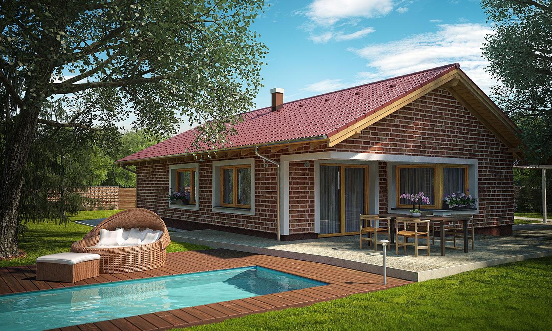 projekt domu BUNGALOW 147