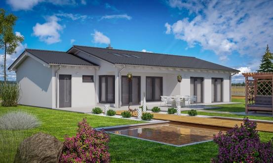 projekt domu BUNGALOW 148