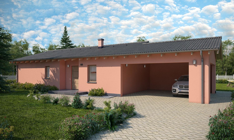 projekt domu BUNGALOW 149