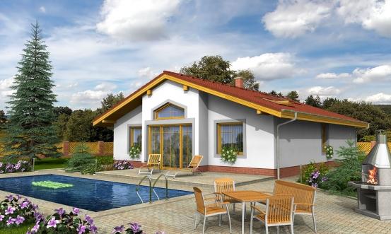 projekt domu BUNGALOW 15