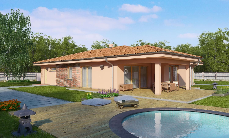 projekt domu BUNGALOW 152