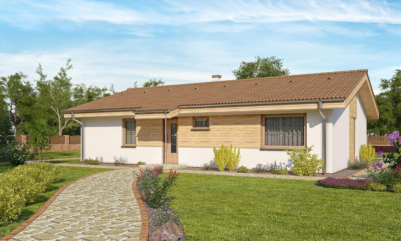 projekt domu BUNGALOW 156