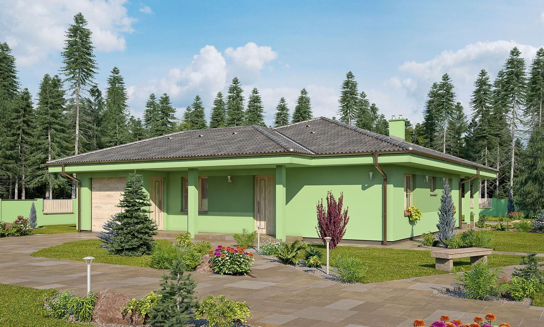 projekt domu BUNGALOW 157