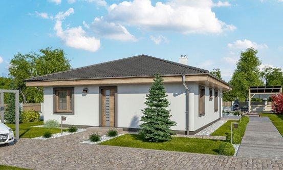 projekt domu BUNGALOW 158