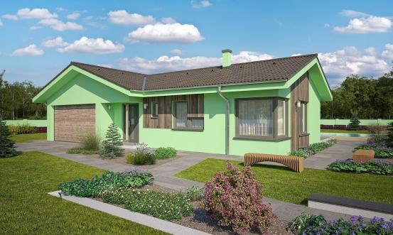 projekt domu BUNGALOW 159