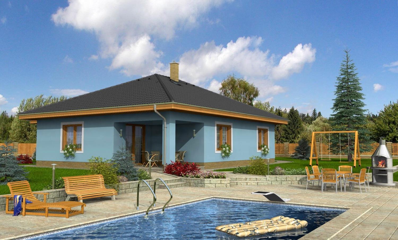 projekt domu BUNGALOW 16