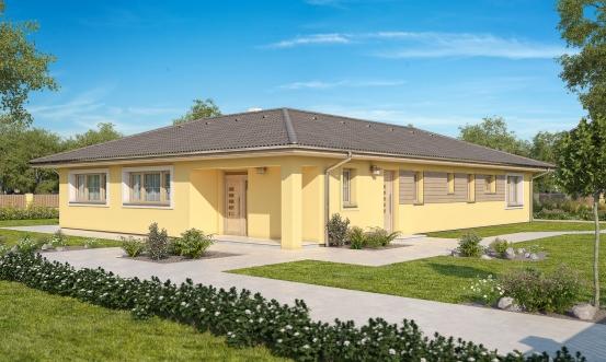 projekt domu BUNGALOW 161