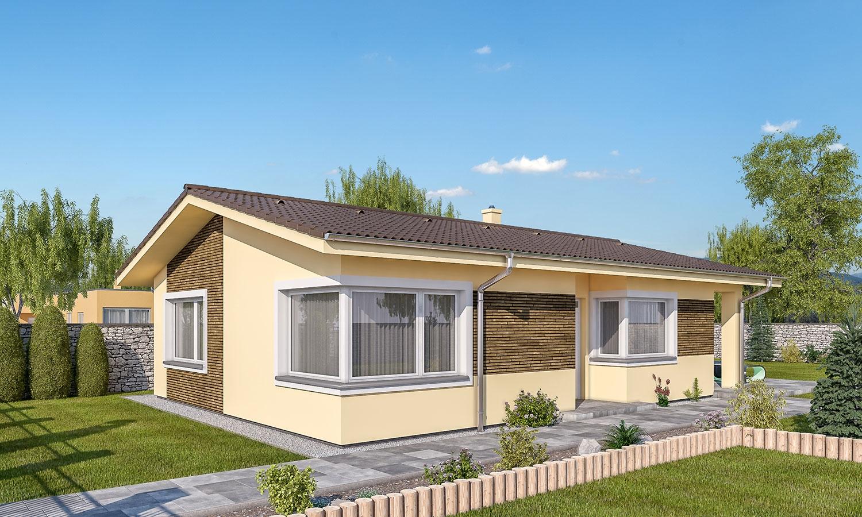 projekt domu BUNGALOW 162