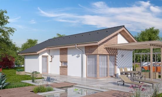 projekt domu BUNGALOW 163