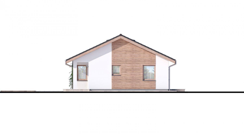 Pohľad 2. - Malý projekt rodinného domu