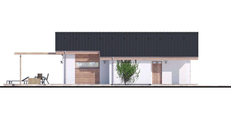 Pohľad 1. - Malý projekt rodinného domu