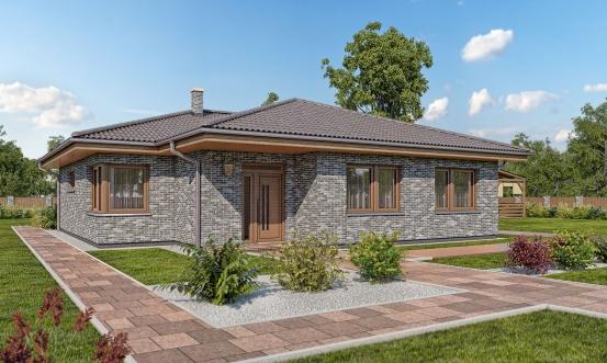 projekt domu BUNGALOW 164