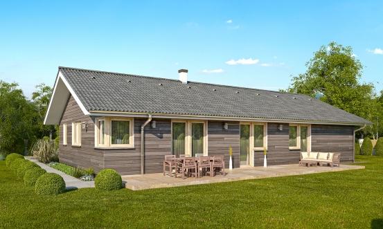 projekt domu BUNGALOW 165